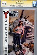 Y The Last Man 2 CGC 9.8 SS Vaughan of Lost Saga Ex Machina Jones Guerra 1 3 4 5