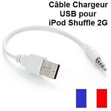 Câble Adaptateur Chargeur USB Jack pour iPod SHUFFLE 2G 2ème Génération