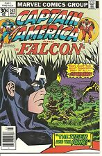 Captain America # 207 March 1977 Marvel The Falcon Jack Kirby