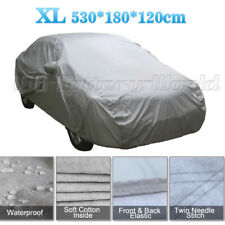 Heavy Duty Waterproof Car Cover Cotton Lining Scratch Proof Extra Large Size XL