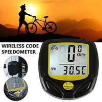Vélo compteur vitesse étanche sans fil vtt compteur vélo ordinateur compteur  DE