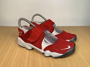 Nike Air Rift Red Trainers 104052-611 Size UK 6  EU 40