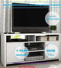 Mia TV Entertainment unit Storage Unit Cabinet-WHITE FZ12575M-W