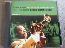 the essential louis Armstrong volume 3 cd freepost in very good condition