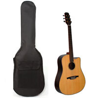 Nylon String Double Strap Padded Electric Bass Guitar Gig Bag Soft Case Backpack