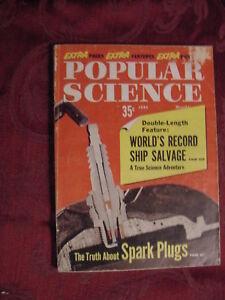 POPULAR SCIENCE June 1960 CAPE DOUGLAS Salvage 1961 CARS Rambler