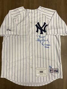 ROGER CLEMENS Tristar TSP Signed Yankees 2000 WS Champs Jersey Autograph #/22