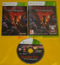 RESIDENT EVIL OPERATIN RACCOON CITY XBOX 360 Ver UK Gioco in Italiano » COMPLETO