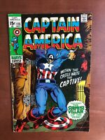 Captain America #125 (1970) 7.5 VF Marvel Key Issue Comic Bronze Age Mandarin Ap