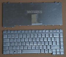 For Toshiba Satellite L315 A350 A350D L450 L450D L455 Keyboard Spanish Silver