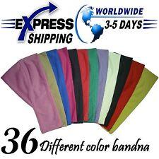 Lot 36 Egyptian Cotton Headband Bandana Underscarf Hijab Bonnet Cap Head wear