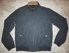 BARBOUR Intl Steve McQueen RECTIFIER HARRINGTON CASUAL in Navy Blue - XL [4252]