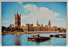 1960's J. Arthur Dixon Postcard Parliament London Protest USA Vietnam *Posted*