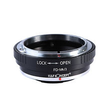 FD-M4/3 Adapter Ring for Canon FD Lens to Micro 4/3 M4/3 Mount Panasonc Cameras