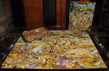 HARD TO FIND 1500 PIECE HEYE JIGSAW PUZZLE SAFARI BY CALLIO - TRIANGULAR BOX