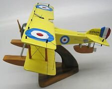 Sopwith Baby RAF Seaplane Airplane Wood Model Replica Small Free Shipping