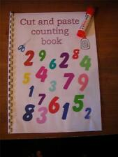 Autism/Special Needs CUT AND PASTE COUNTING BOOK