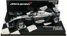 Minichamps MCLAREN MERCEDES mp4-18 Test Car 2003-KIMI RAIKKONEN SCALA 1/43
