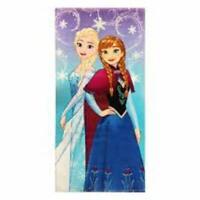 Disney Frozen Snowflake Sisters Beach Towel Anna Elsa Licensed 100% cotton new