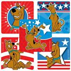 """25 Scooby Doo Patriotic Stickers, 2.5"""" x 2.5"""" each, Party Favors"""