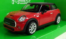 Nex models 1/24 Scale 24058W BMW Mini Cooper Hatch Red Diecast model car