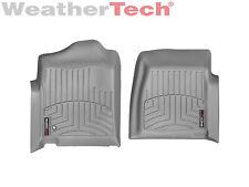 WeatherTech Floor Mat FloorLiner for Silverado/Sierra Regular Cab- 1st Row- Grey