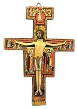 San Damiano Icon Cross Crucifix of Saint Francis Marco Sevelli Wall Plaque MADE