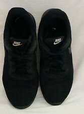 Nike Tanjun 812655-002 Black Athletic Shoes Women's Sneakers Size US 9 M Roshe