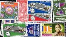 Cambodge Khmère- Cambodia Khmer 100 timbres différents oblitérés