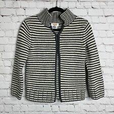 Talbots Merino Lamb Wool Angora Rabbit Hair Blend Sweater Cardigan Size Small