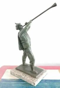 """LEO MOL BRONZE SCULPTURE """"THE TRUMPETER"""" SIGNED AND NUMBERED"""