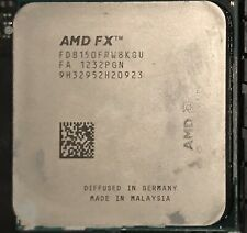 AMD FX-8150 Eight-Core Socket AM3+ CPU Processor 3.6GHz (Bent Pins/For parts)