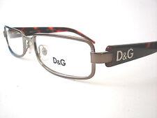 Dolce and Gabbana  Eyeglasses D&G 5030 Gunmemtal Brown 213 Authetnic 52-17-135