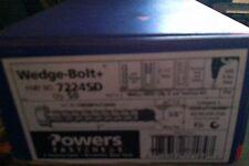 "Powers Fasteners Wedge-Bolt & Screw Anchor 3/8 x3"" 50 EA P/N 7224SD"