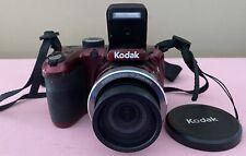 Open Box Kodak Pixpro AZ401 Digital Camera 16MP Red - SH0274 NICE! NEW BATTERIES
