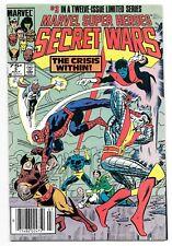 Marvel Super Heroes Secret Wars #3 - 1st Titania & Volcana - Newsstand Variant