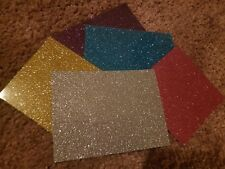 * MINI SCRAP PACK* iron on vinyl  EXTREME GLITTER! Perfect for diy crafts