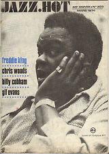 JAZZ-HOT N° 303 MARS 1974 FREDDIE KING, BILLY COBHAM, GIL EVANS