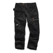 SCRUFFS Work Trousers 3D TRADE Hard-Wearing CORDURA FABRIC Knee Pad Pockets