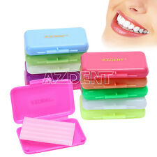 10-200X Dental Orthodontic Wax for Relief Braces Gum Irritation 10 Kinds Scent