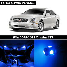 2005-2011 Cadillac STS Blue Interior LED Lights Package Kit
