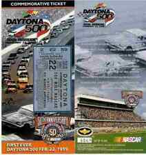 FIRST EVER DAYTONA 500 COMMEMORATIVE TICKET-ONLY 10,000  MADE