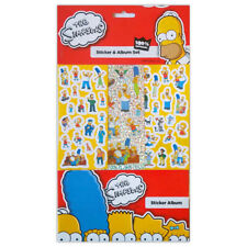 The Simpsons Sticker Album 6 Sheets