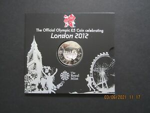 Great Britain, Royal Mint £5 coin London 2012 Olympic Games,