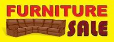 Furniture Sale Vinyl Banner Sign - 3' X 8'