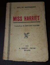 MINI LIBRO BARION - MISS HARRIET - GUY DE MAUPASSANT  1925   11/17