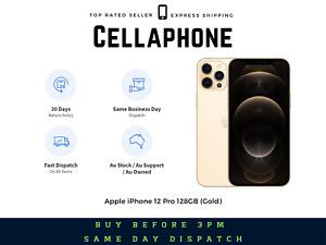 ~~Brand New~~ Apple iPhone 12 Pro 128GB (Gold) - Au Stock - GST Invoice