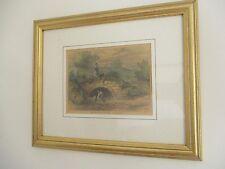 HAMPSTEAD. Shepherd's Well in 1820. London c1880 framed mounted print