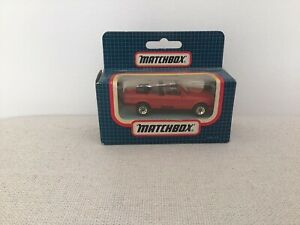 MATCHBOX - MB 28 - Red BMW CABRIOLET - Blue BOXED 1980's