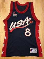 Vintage Champion 1996 USA Basketball Dream Team Scottie Pippen Jersey Adult 36